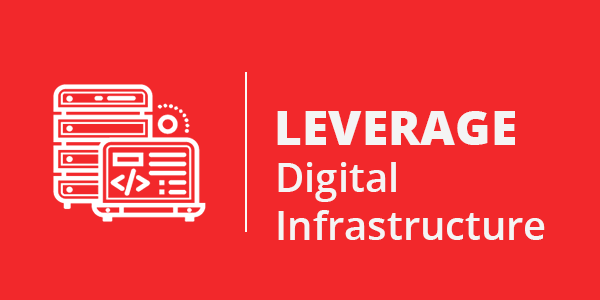 leverage digital infrastructure